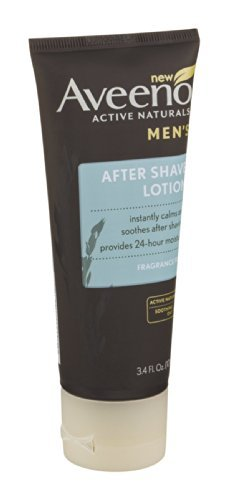 Aveeno Active Naturals Men's After Shave Lotion, 3.4oz (Pack of 3) - ShaverGuides