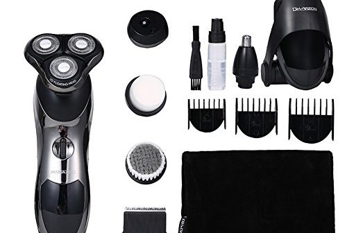 electric shaver beard trimmer 8 in 1 men rotary washable rechargeable review shaverguides. Black Bedroom Furniture Sets. Home Design Ideas