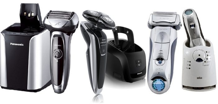 Panasonic Electric Razor, Men's Dual-Blade Cordless with Wet/Dry Convenience, ES-RW30-S