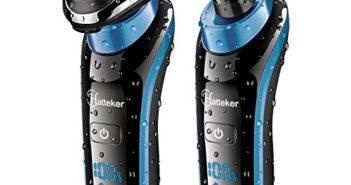 HATTEKER Electric Razor Shaver Shavers For Men Beard Grooming Set Wet … Review