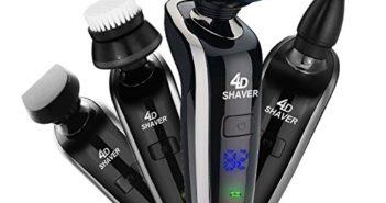 GCtown Electric Razor,Waterproof Eletric Shaver,USB Rechargeable Men's… Review