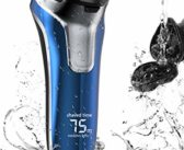 Electric Razor for Men, FLYCO Beard Trimmer Wet & Dry Electric Shaver with Quick Charge, LCD Display, Travel Lock, IPX7 Waterproof Pop-up Trimmer, Electric Shaver for Men with Travel Case